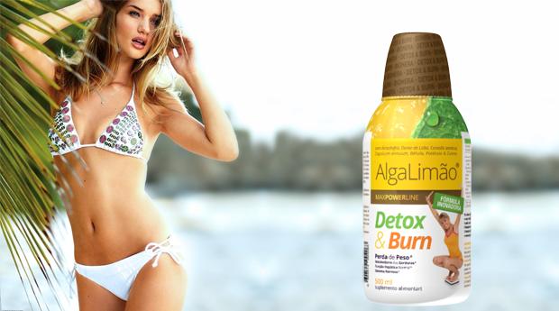 Novo AlgaLimão Detox & Burn 500 ml! Fórmula Inovadora para a Perda de Peso!