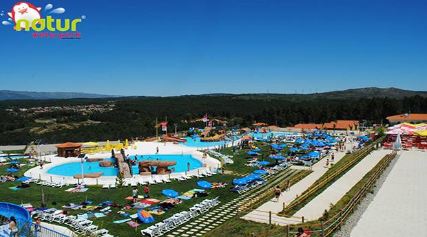Entradas para Toda a Família no Naturwaterpark em Vila Real!