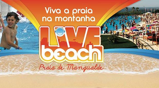 Entradas no Live Beach para 2, 4 ou 6 Pessoas!