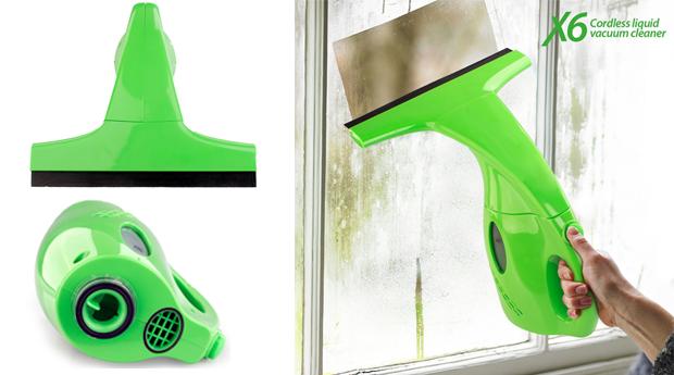 Máquina Limpa Vidros Vacuum Cleaner!