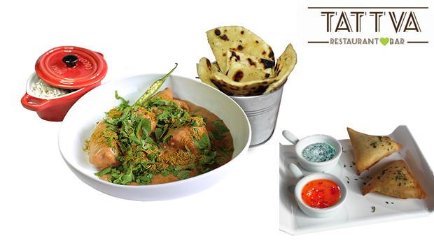 Sabores da Índia para 2! Experiência Gourmet no Restaurante Tattva no Porto!