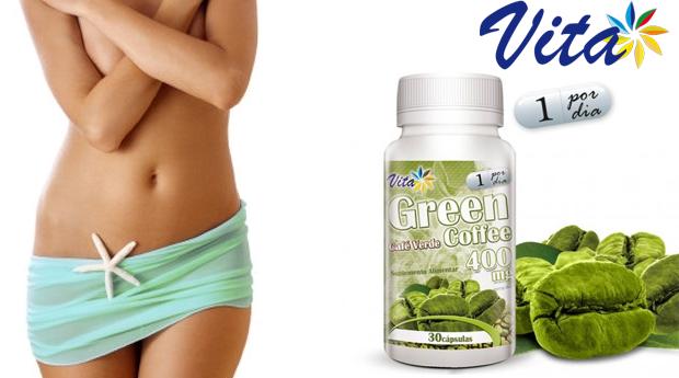 1 ou 2 Embalagens de Green Coffee Vita! O Suplemento Ideal Para a Perda de Peso!