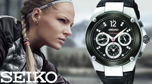Relógio de Senhora Seiko Sportura! (Portes Incluídos)