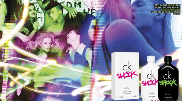 Perfume de Homem e Senhora CK One Shock-100 ML!