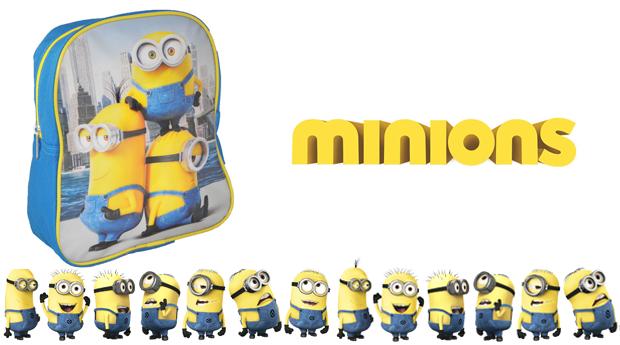 Mini Mochila Mionions! A Companhia Mais Divertida para o Regresso às Aulas!