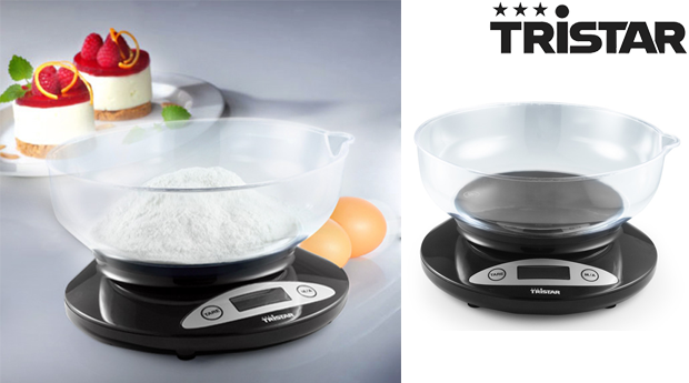 Balança Digital de Cozinha Tristar!