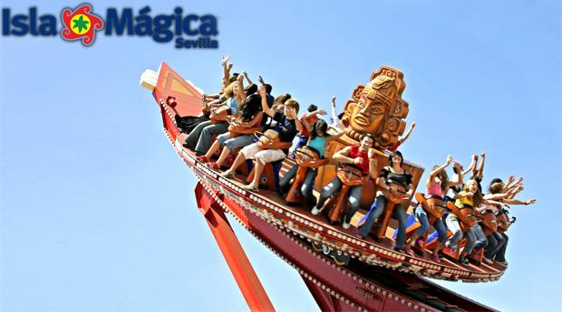 Isla Magica e Agua Magica Sevilha! Entradas Para Toda a Família para a Isla e Agua Mágica! Agosto e Setembro Incluídos!