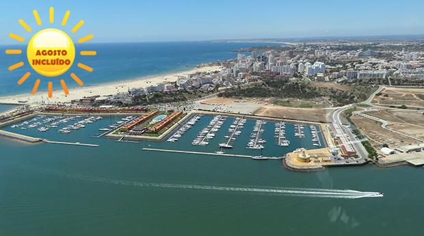 Algarve com Tudo Incluído em Agosto -  2, 3, 4, 5 ou 7 Noites Para Toda a Família no Clube Praia da Rocha!