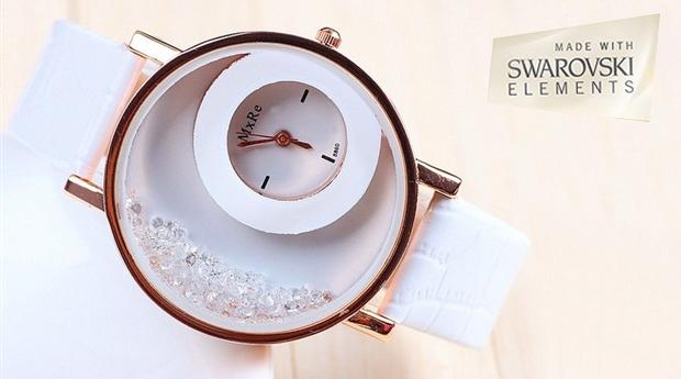 Relógio 'Smasher' com Cristais Swarovski Elements! (Portes Incluídos)