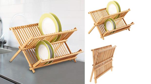 Escorredor de Loiça de Bambu!