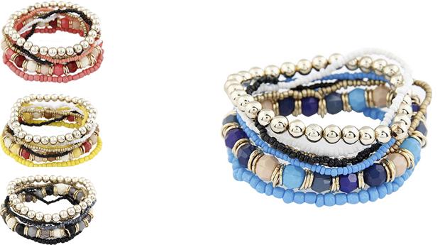 Pulseira Multilayer Beads! (Portes Incluídos)