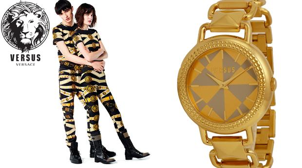 Relógio de Senhora Versus Coconut Gold! (Portes Incluídos)
