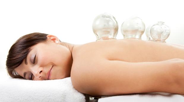 Massagem Terapêutica com Ventosas em Braga!