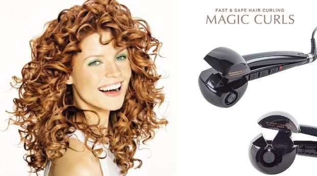 Ferro de Ondulação Magic Curls!