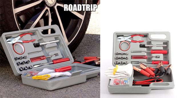 Kit de Ferramentas Viagem para Carro Road Trip!
