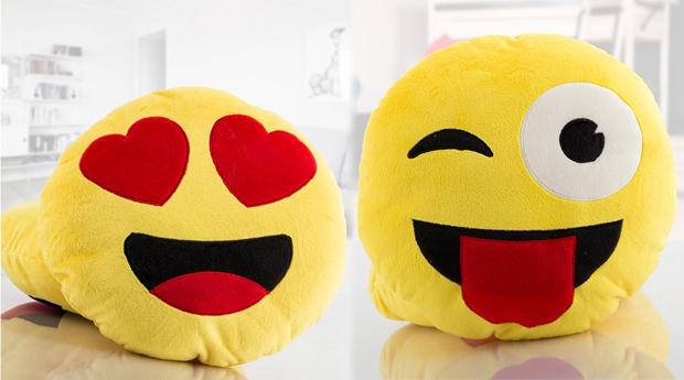 1, 2, 3 ou 4 Almofadas Smile! A Peça de decoração Mais Divertida!
