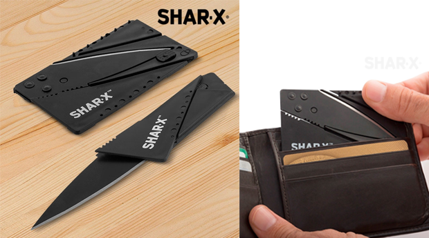 Faca Multiusos Shar-X! Pack de 2!