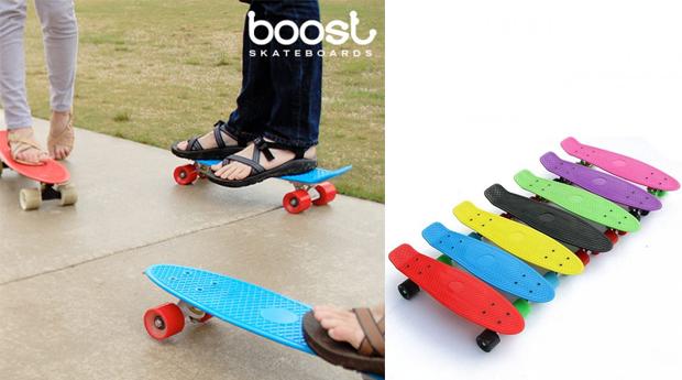 Skateboards Boost! Várias Cores Disponíveis!