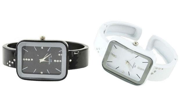 Relógio Crystal Quartz! (Portes Incluídos)