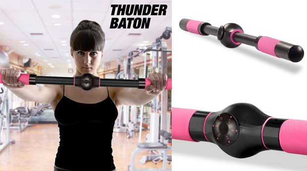 Barra de Exercícios Thunder Baton!