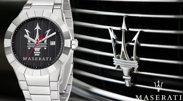 Relógio Maserati Tridente! (Portes Incluídos)