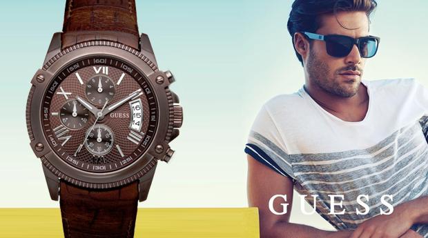 Relógio Masculino Guess em Aço Inoxidável! (Portes Incluídos)