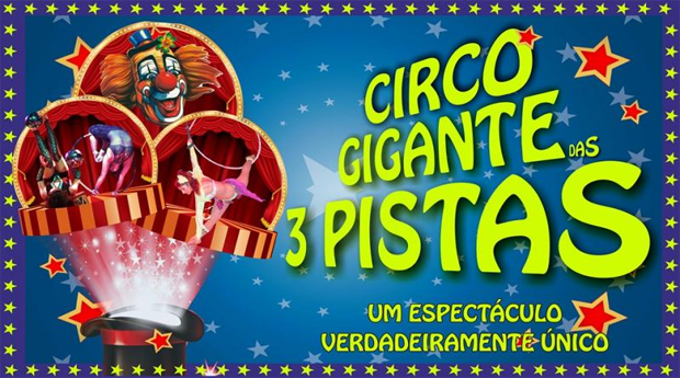 Circo Mundial em Vila Nova de Gaia! Circo Gigante de 3 Pistas e 2 Aquários!