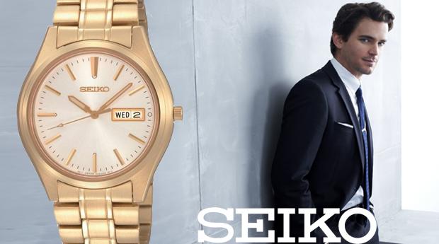 Relógio Seiko Neo Classic! (Portes Incluídos)