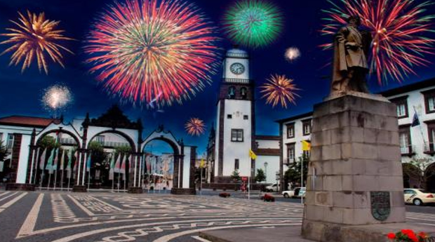 Réveillon nos Açores com Hotel e Voos -  Estadia no Hotel Ponta Delgada 3* com Voos Incluídos!