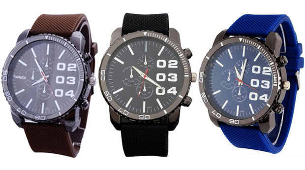 Relógio Masculino Wynn! 3 Cores Disponíveis! (Portes Incluídos)