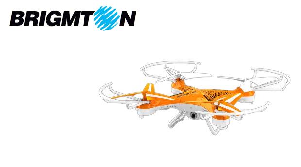 Drone Aéreo Brigmton com Câmara HD!