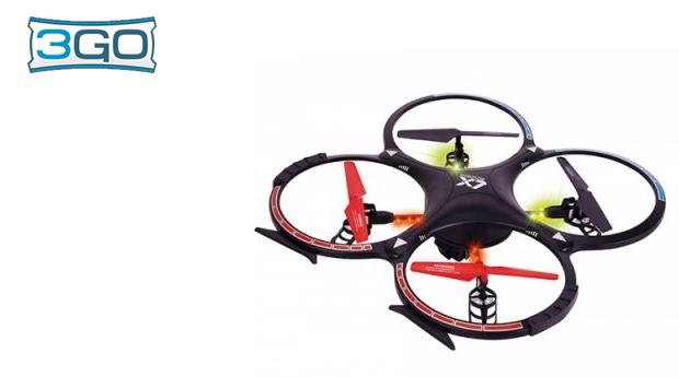 Drone 3GO Valkyria com Câmara HD!