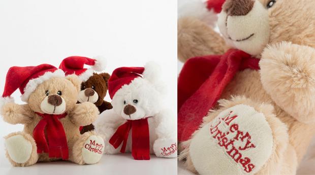 Urso Peluche de Natal!