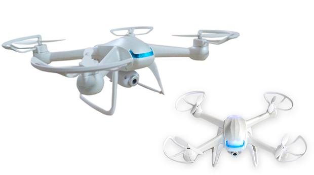 Drone com 4 Hélices e Câmara HD!