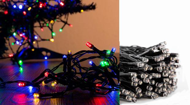 Luzes de Natal Multicolor LED com 48, 96, 192, 400, 560 Lâmpadas!