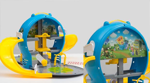 Pista Infantil Parque de Estacionamento Transportável!