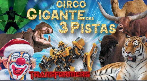 Circo IRMÃOS CARDINALI no Parque da Cidade do Porto! O Gigante das 3 Pistas com Transformers, Mulher Laser, Tigres, Palhaços e Muito Mais...!