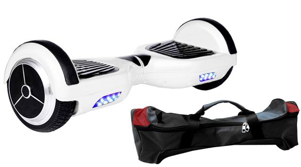 Hoverboard Elétrico, o Skate Eléctrico Mais Cool do Mercado! 3 Cores Disponíveis!