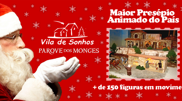 Vila dos Sonhos Presépio Animado -  1 ou 2 Noites com Jantar no Hotel Mestre Afonso Domingues 4*!