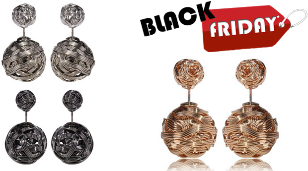 SUPER BLACK FRIDAY! Brincos Lady Jane! (Portes Incluídos)