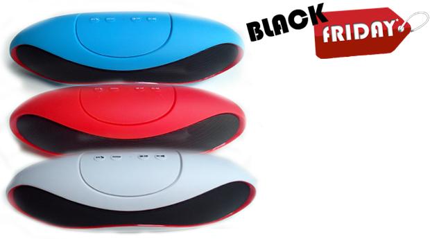 SUPER BLACK FRIDAY! Colunas com Bluetooth UltraSound!