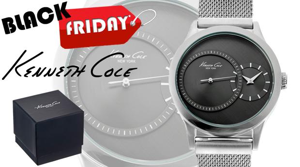 SUPER BLACK FRIDAY! Relógio de Homem Kenneth Cole Clássico!