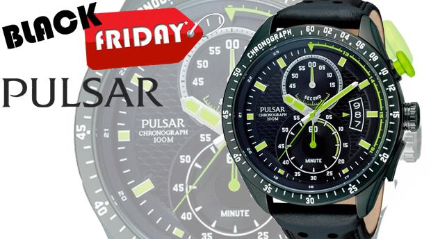 SUPER BLACK FRIDAY! Relógio de Homem Pulsar Sport!