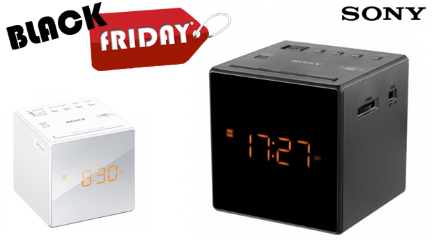 SUPER BLACK FRIDAY! Rádio Despertador Sony®!