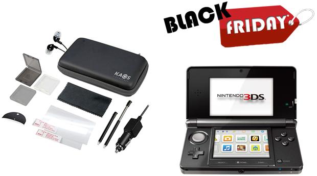 SUPER BLACK FRIDAY! Conjunto de 12 Acessórios Kaos Compatível com Nintendo 3DS!