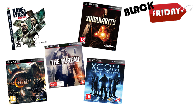 SUPER BLACK FRIDAY! Pack de 5 Videojogos para Playstation 3!
