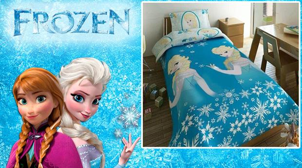 Capa de Édredon Frozen com Fronha de Almofada!