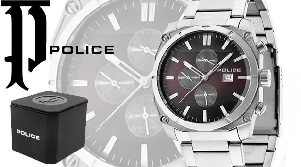 Relógio Police® Milano Brown! (Portes Incluídos)