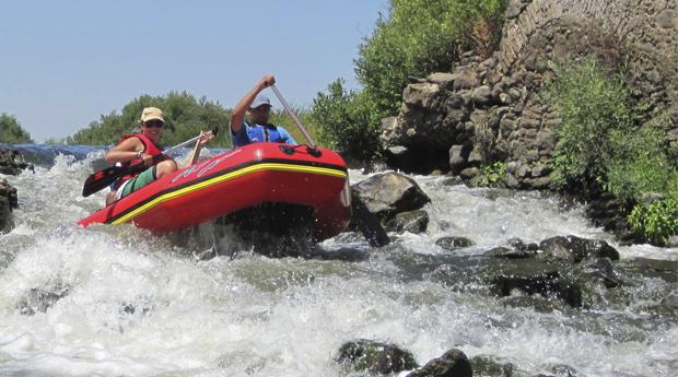Rafting no Rio Guadiana para 1 ou 2 Pessoas! Aventura Sem Limites!