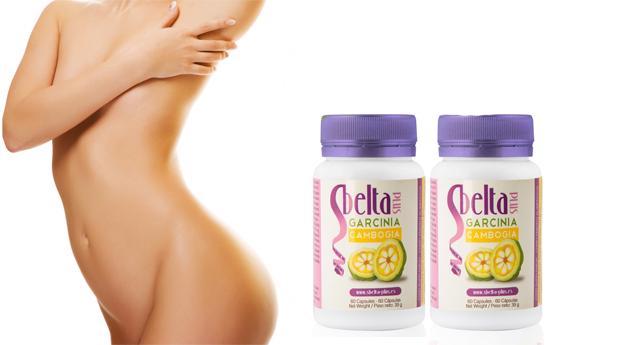 1 ou 2 Embalagens de Suplemento Dietético de Garcinia Cambogia da Sbelta Plus!